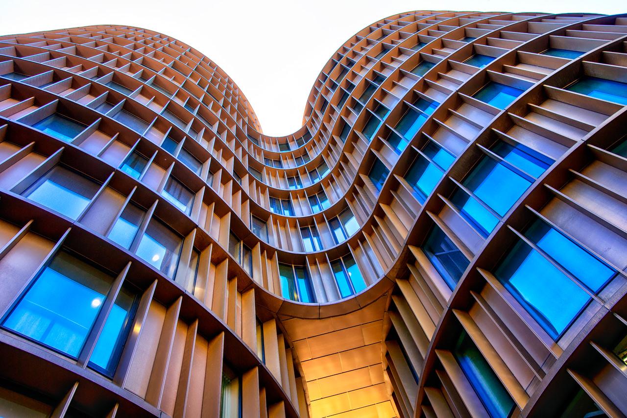 Arkitektur, koebenhavn, axel, towers