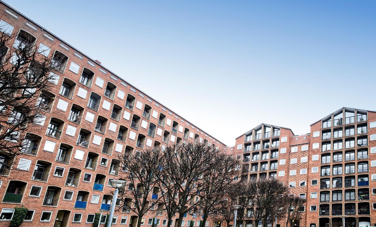 Arkitekturfotografering, koebenhavn, dronningegaarden