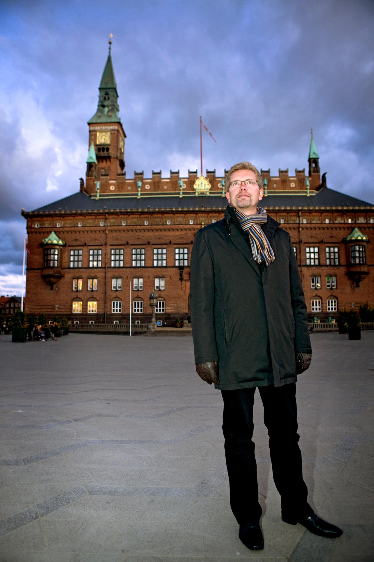 Frank Jensen, minister, socialdemokrat, Portrætfotograf, København