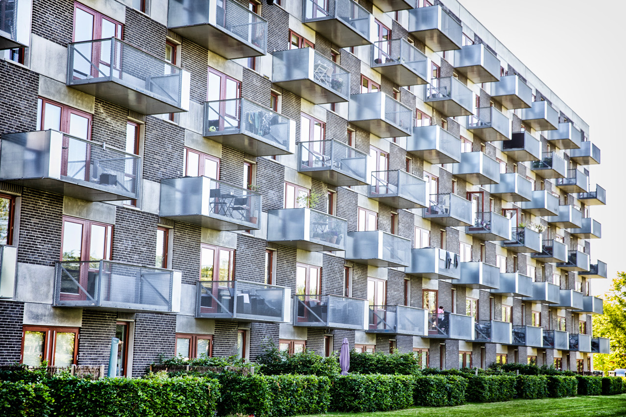Gyngemose Parkvej, Altan, lejelighed, Søborg, Andelsbolig, København, arkitekturfotograf