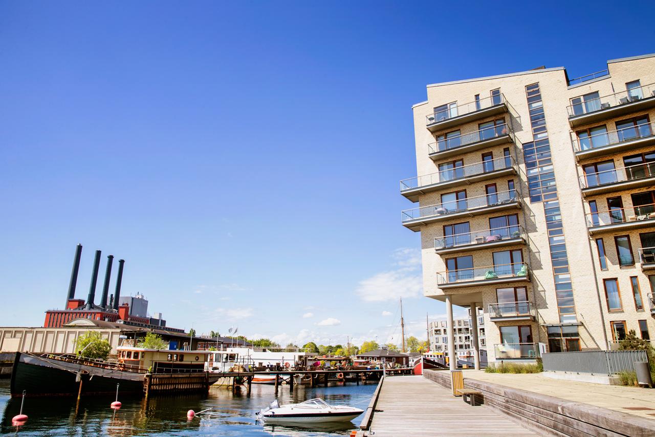 Havneholmen, andelslejeligheder, altan, airbnb, arkitekturfotograf, København