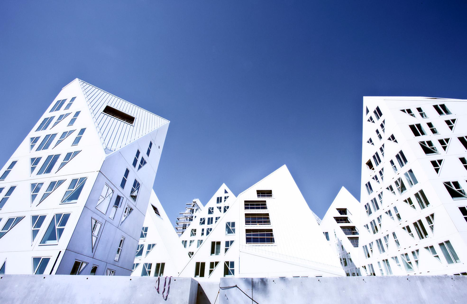 Isbjerget, lejeligheder, arkitekturfotograf, københavn