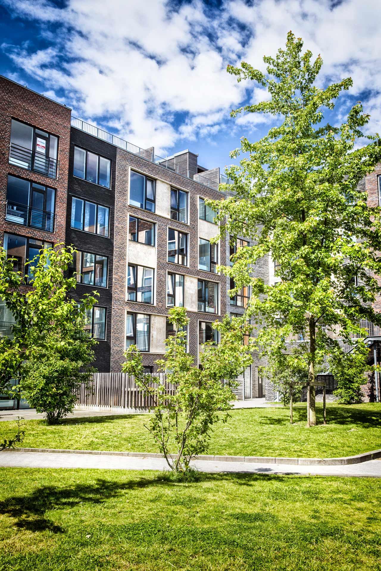 Sluseholmen, altan, kanalby, København, arkitekturfotograf, tagterrasse, lejelighed
