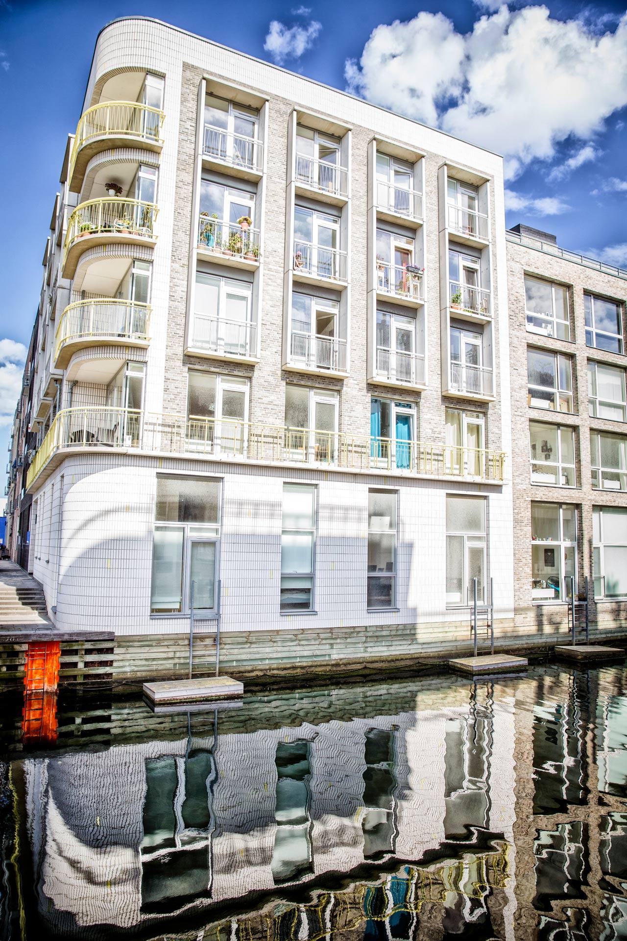 Sluseholmen, altan, kanalby, København, boligfotograf, tagterrasse, lejelighed, arkitekturfotograf