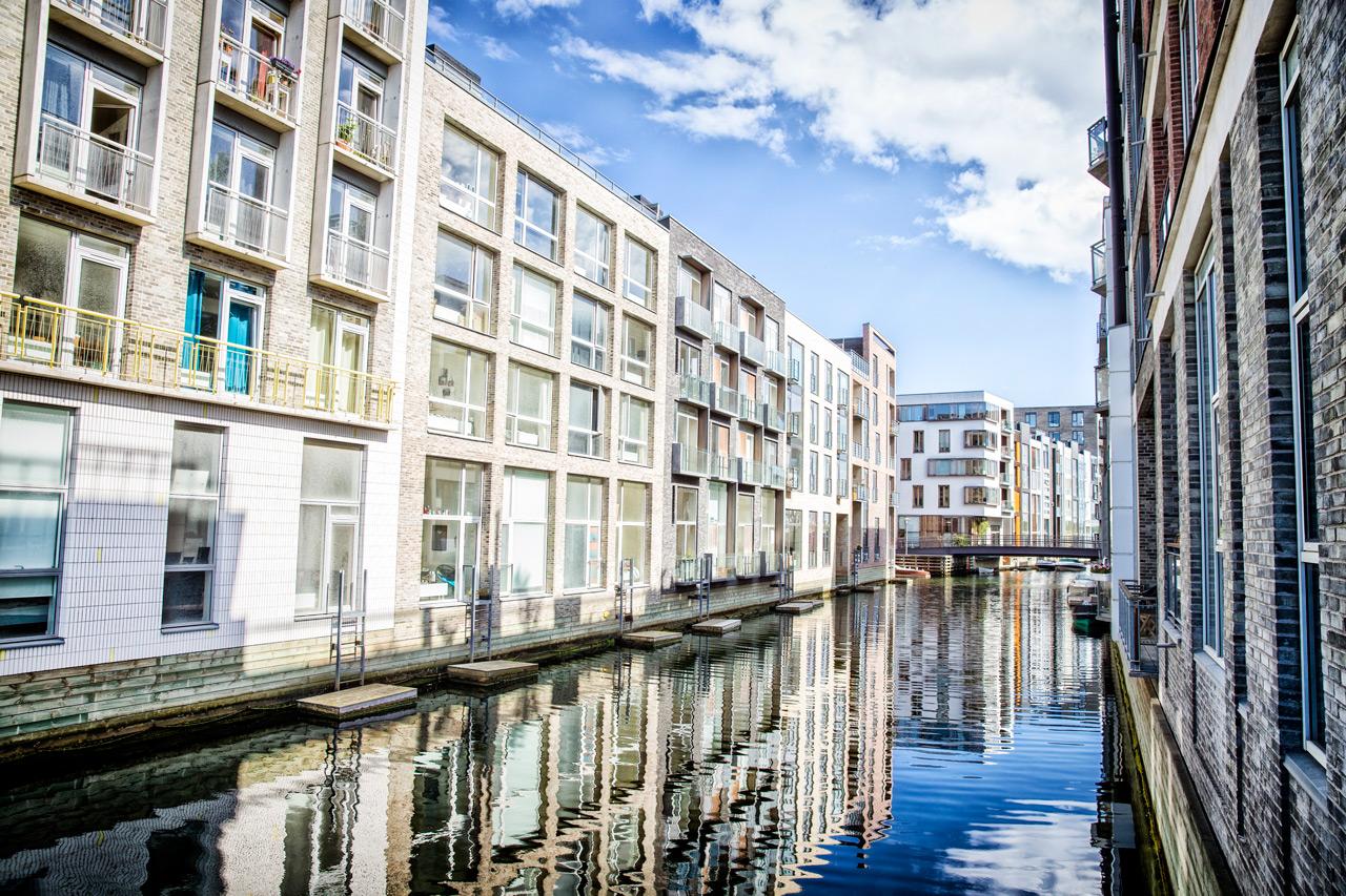 Sluseholmen, altan, kanalby, København, ejendomsfotograf, tagterrasse, lejelighed