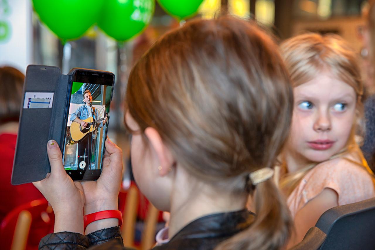 Nicklas Sahl, børn, iphone, video, mobil, rigshospitalet