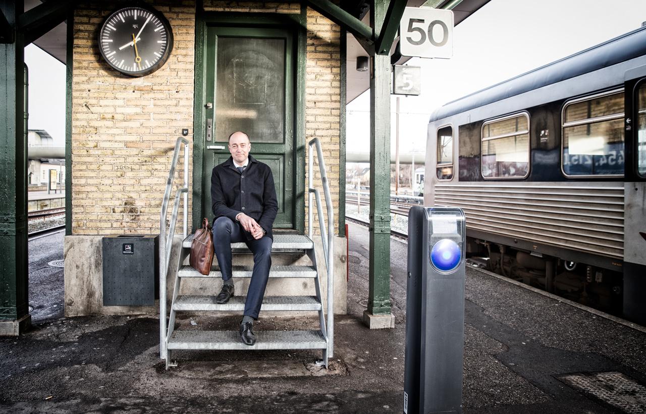 Magnus Heunicke, koege, station, pendler, dsb, socialdemokratiet