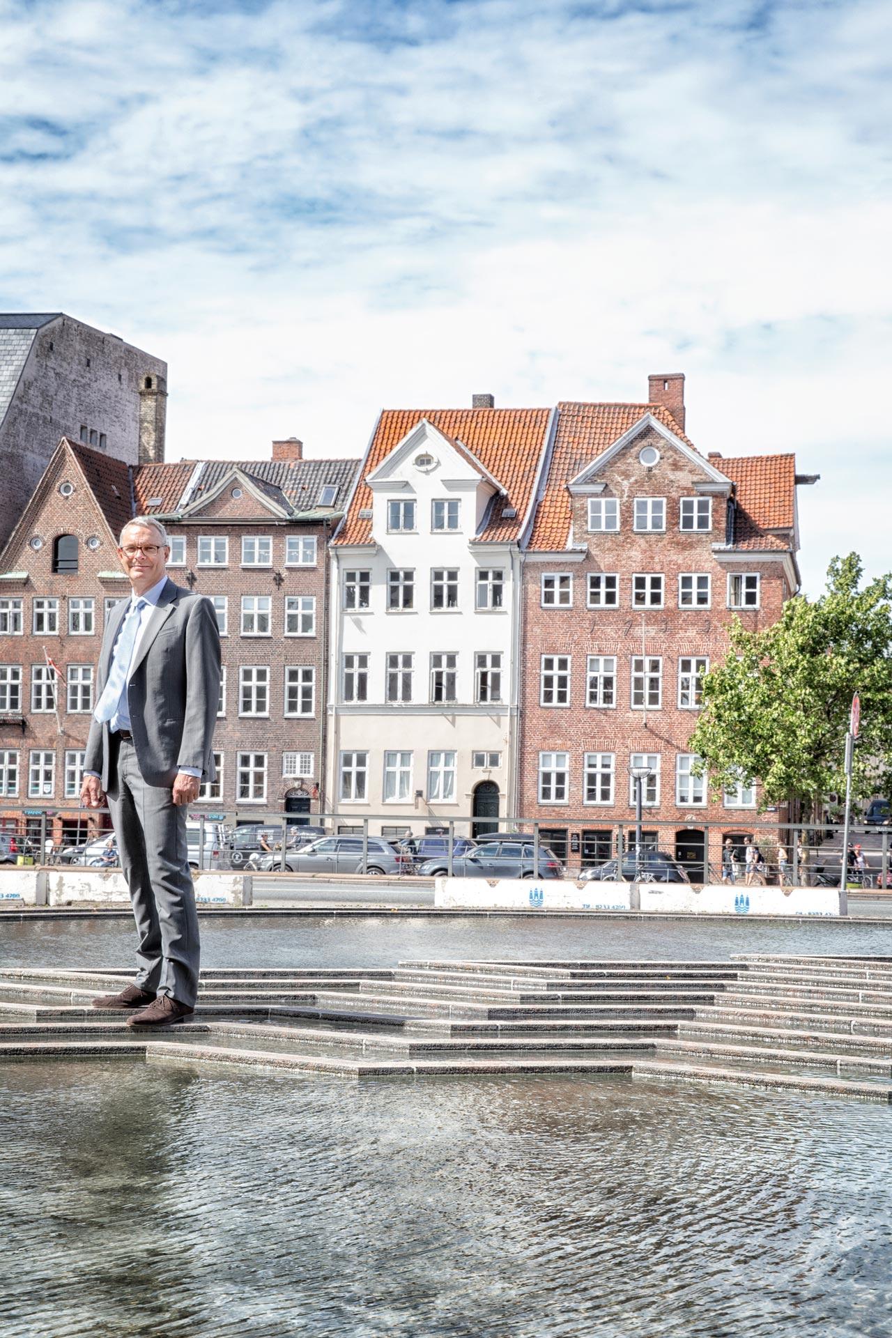 Martin Næsby, businessportræt, københavn, vand, Hovedsæde