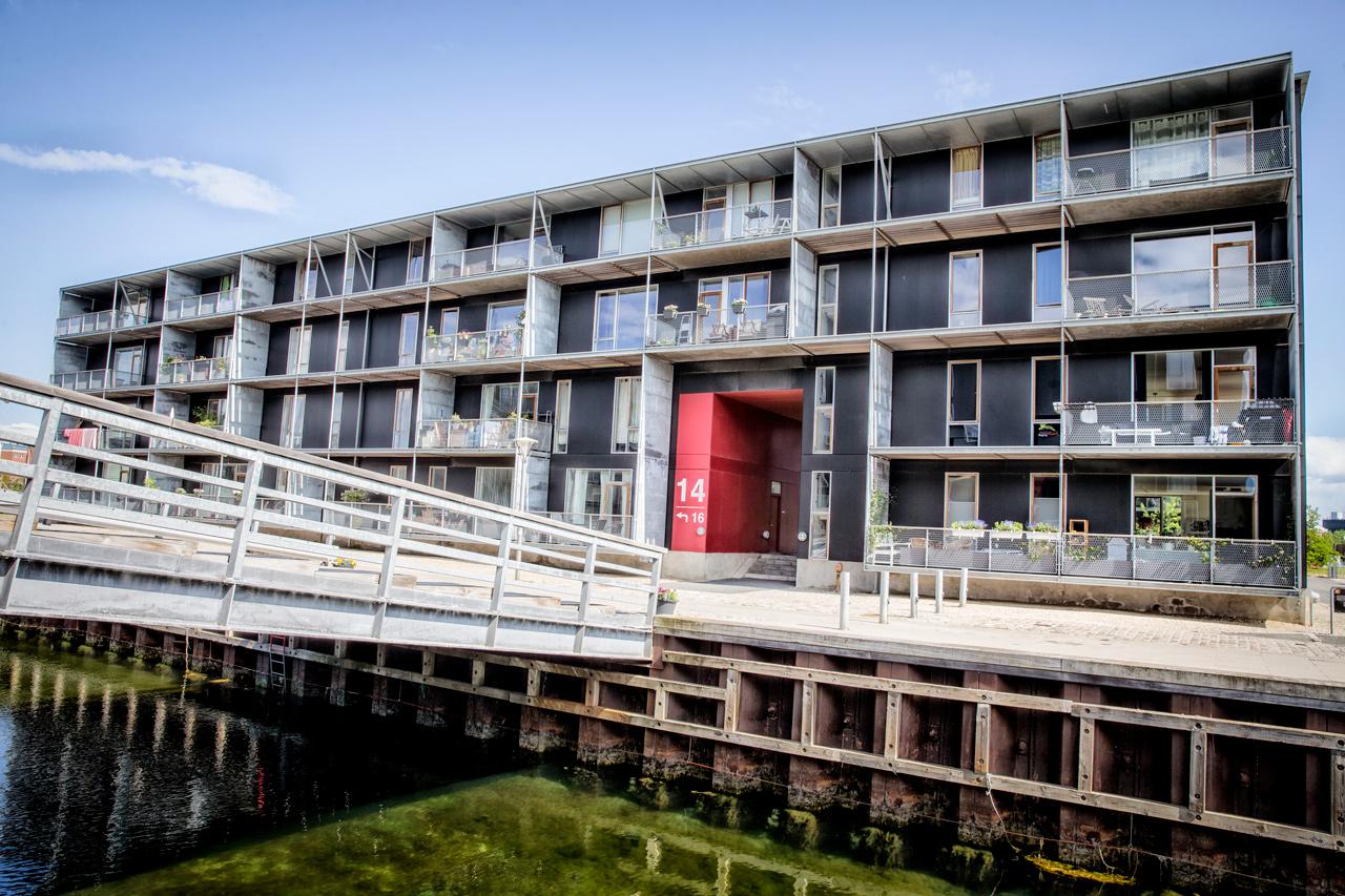 Peter Holms vej, Teglholmen, tv2, boligbyggeri, husleje, airbnb, arkitekturfotograf, København
