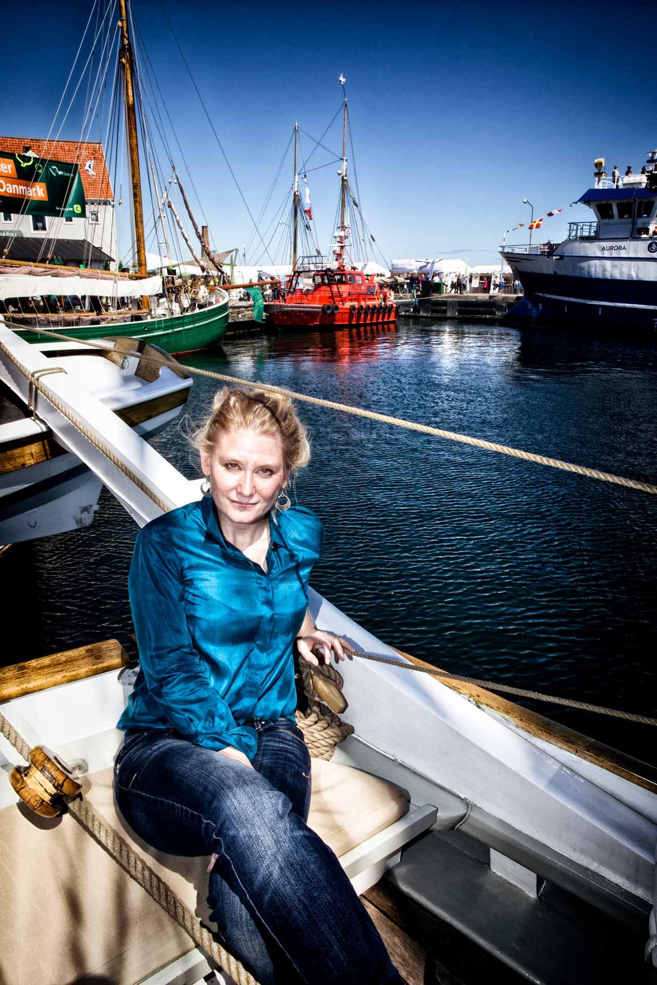 Puk Damsgaard, reporter, portrætfotograf, københavn