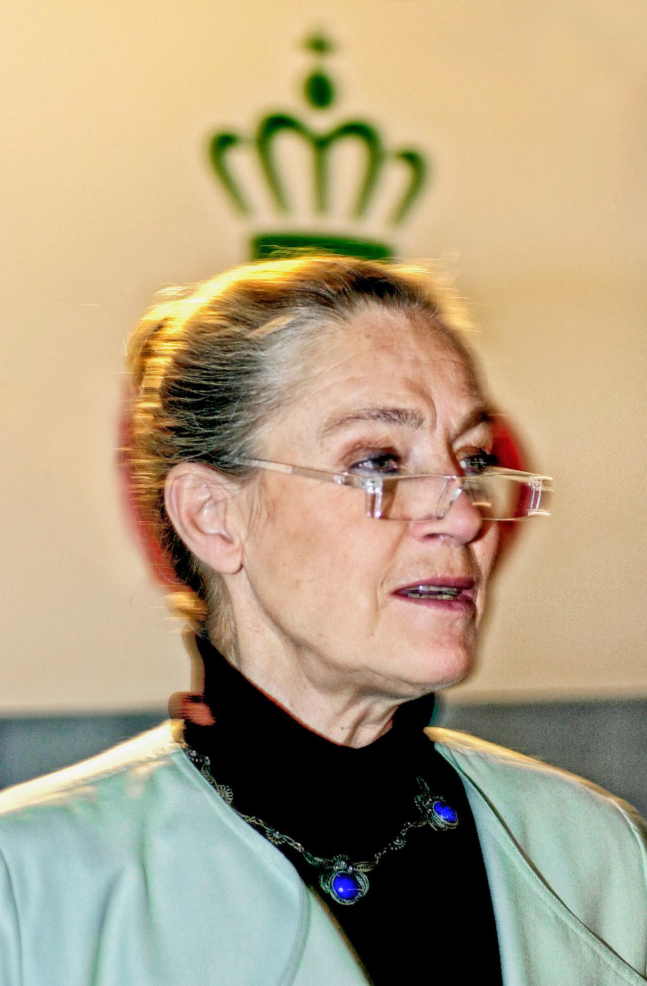 Ritt Bjerregaard, dronning, socialdemokratiet, krone, bydronning, kræft, død