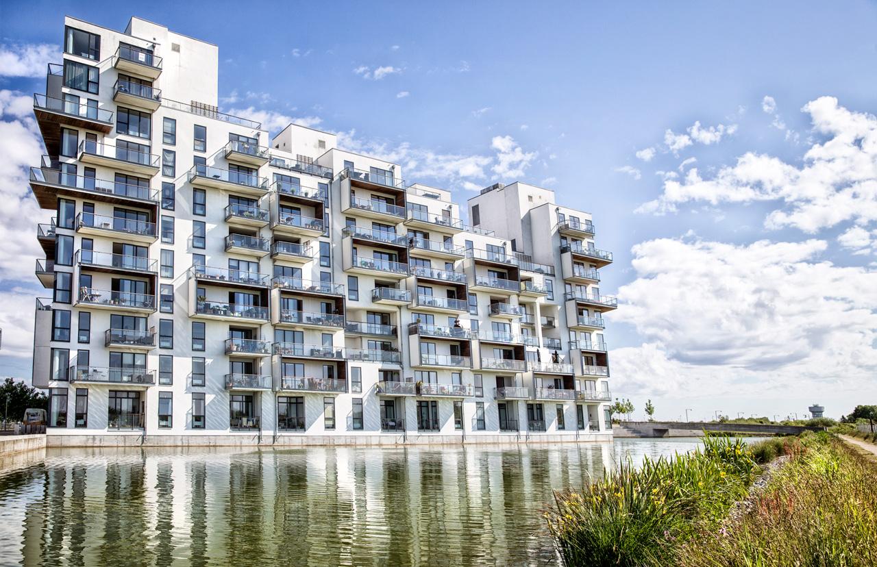 Robert Jacobsens vej, leje, airbnb, arkitekturfotograf, københavn, ørestaden