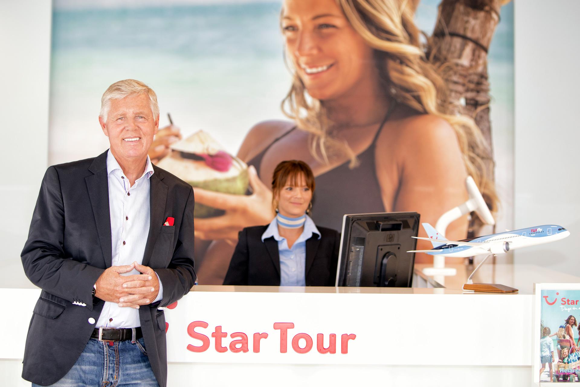 Stig Elling, forretningsmand, portrætfotograf, Star Tour, København