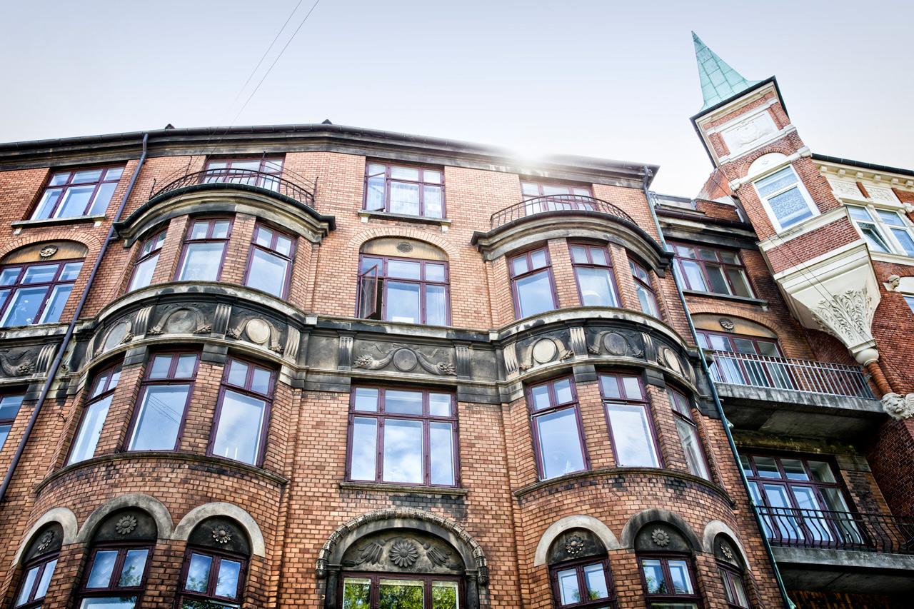 altan, Lejligheder, airbnb, facade, udsmykning, rebgøring, service, tårn, københavn