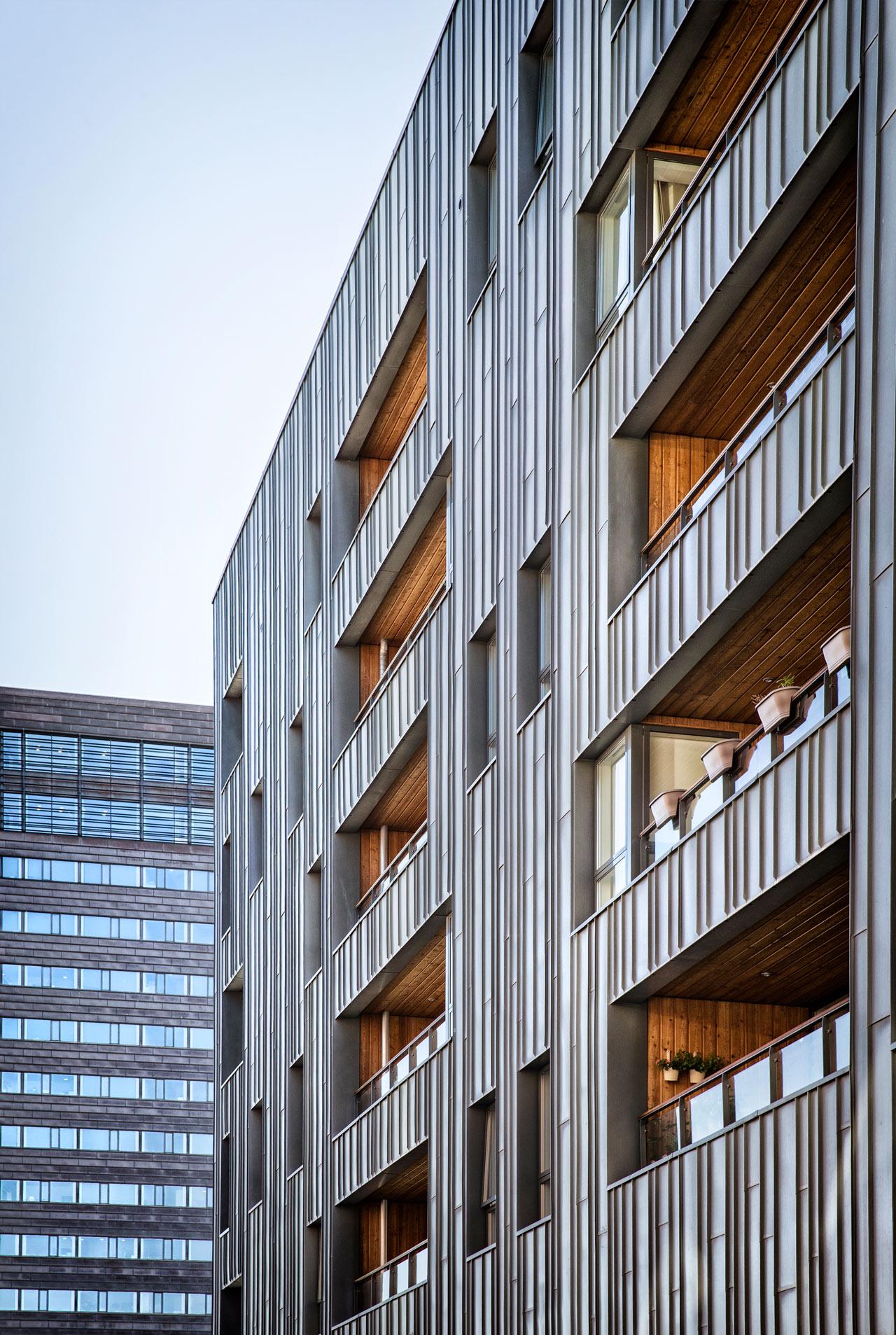 Zinkhuset, lejeligheder, airbnb, nordhavn, arkitekturfotograf, københavn