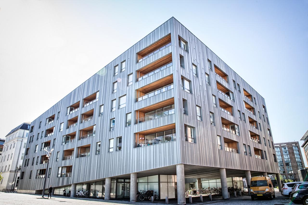 Zinkhuset, lejeligheder, airbnb, nordhavn, arkitekturfotograf, københavn, østerbro