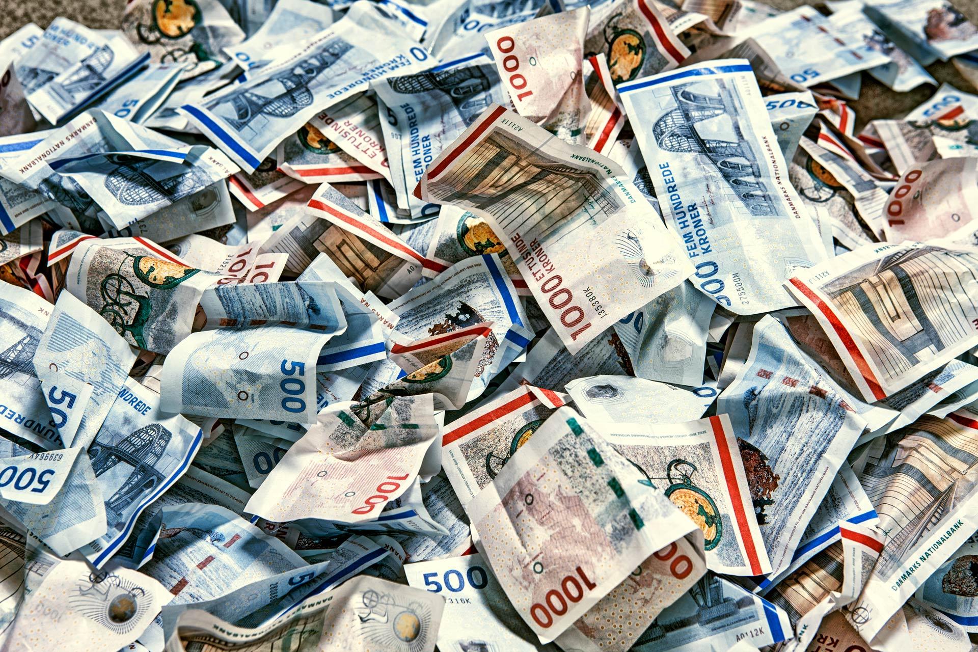 penge, sedler, danske, danish, money