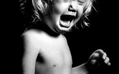 Børn græder