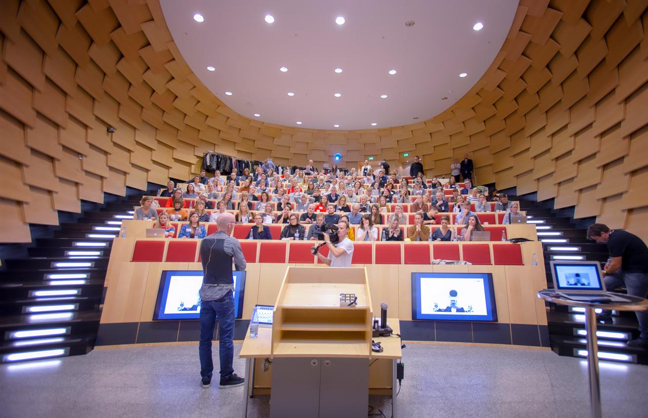 Influencer, day, bigum, konferencefotograf, københavn, KLP