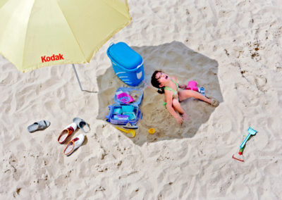 ferie-barn-svigt-kodak-strand-sand-reportagefotograf