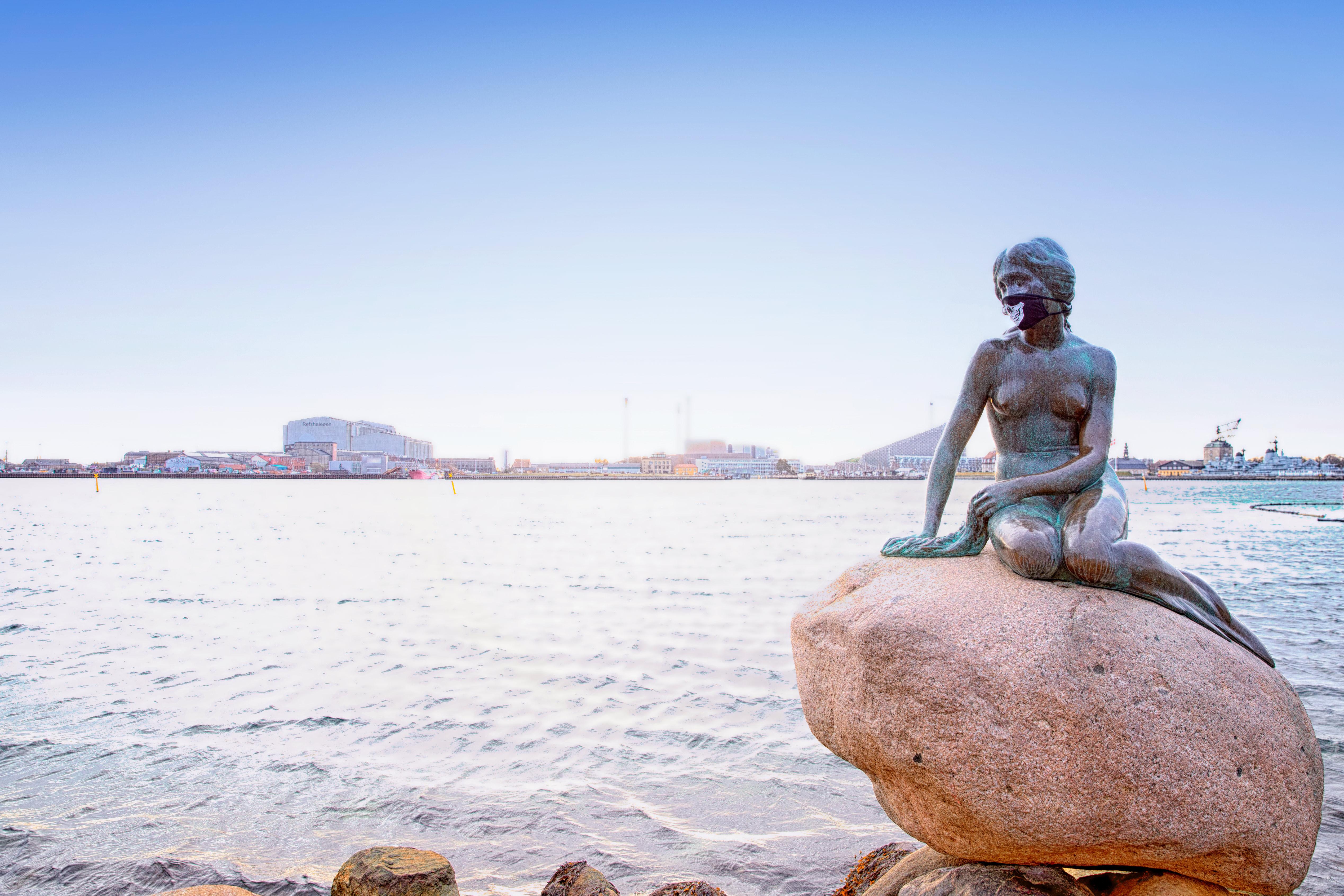 Den lille havfrue, københavn, reportagefotograf